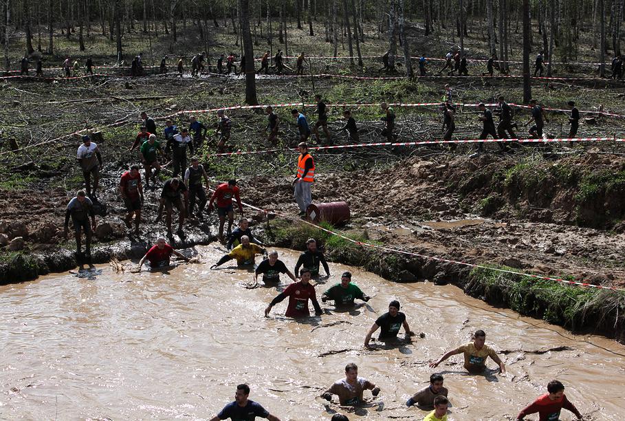В «Забеге сильных» поучаствовали уже 2500 бегунов