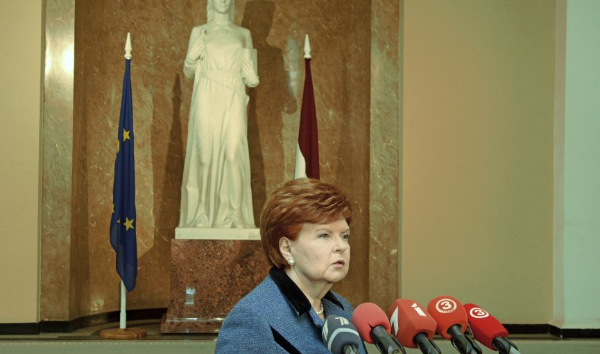 Latvia's ex-president puts the politics of poetry in plain English