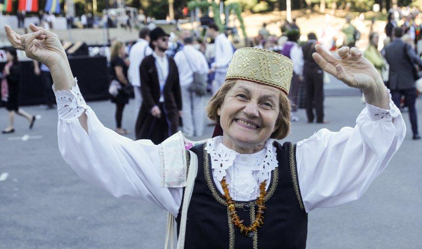 Izskanējuši Ziemeļu un Baltijas valstu dziesmu svētki