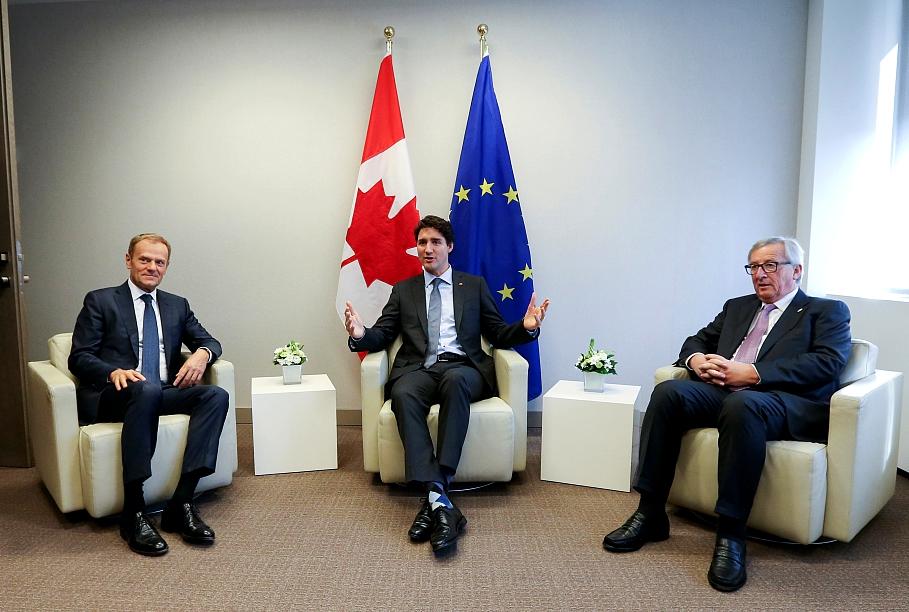 Соглашение о свободной торговле между ЕС и Канадой сегодня вступает в силу