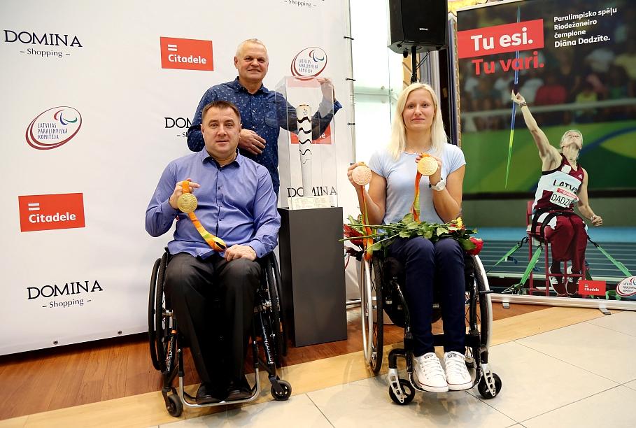 В Риге появится спортивный центр специально для параолимпийцев