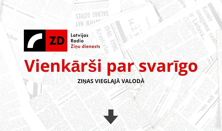 Ziņas vieglajā valodā  11. novembrī
