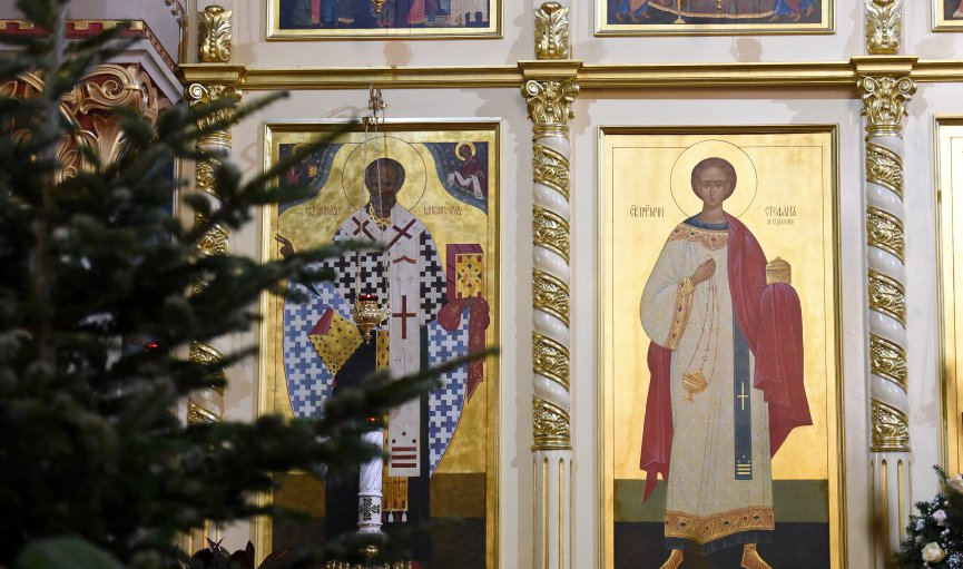 Šogad pareizticīgo Ziemassvētki norit bez nakts dievkalpojumiem