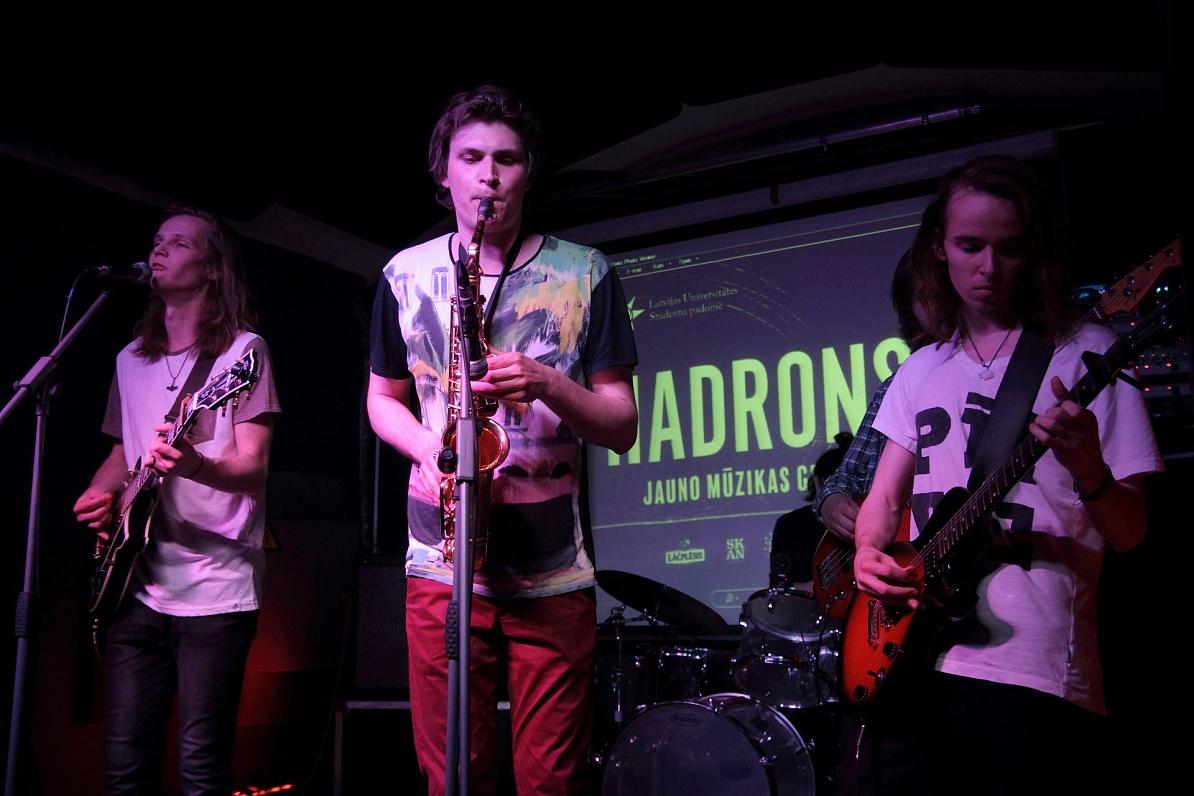 Konkursā «Hadrons» uzvarējusi grupa «The Creek»