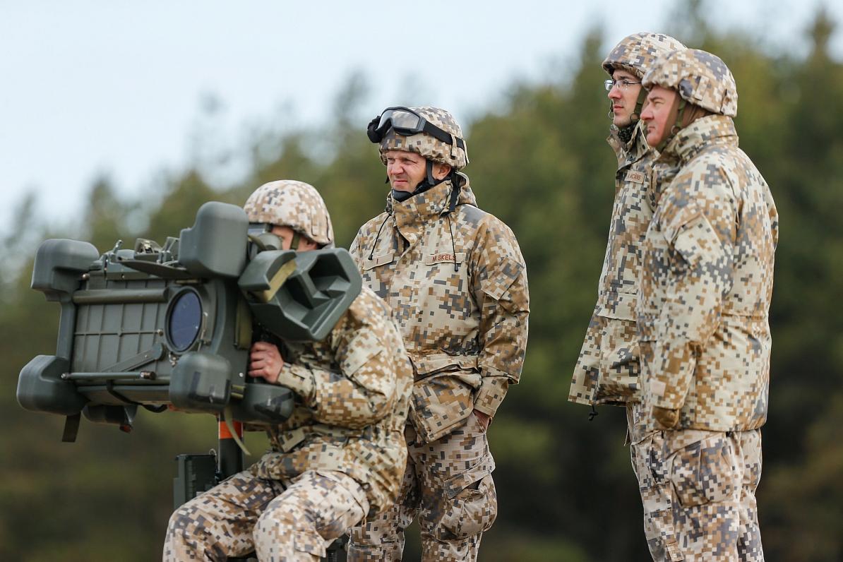 Это учения: под Юрмалциемсом — боевые стрельбы из систем ПВО
