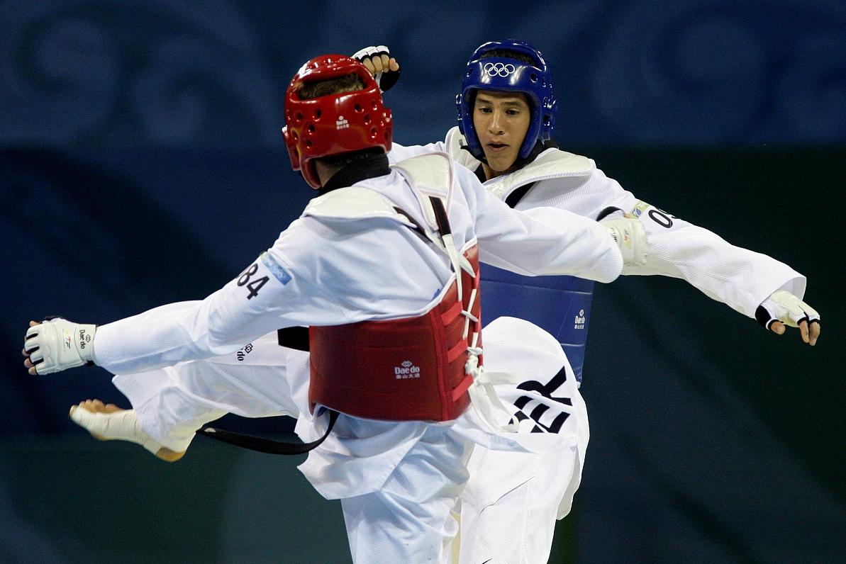 Taekvondo cīkstone Jolanta Tarvida pasaules čempionātā neiekļūst astotdaļfinālā