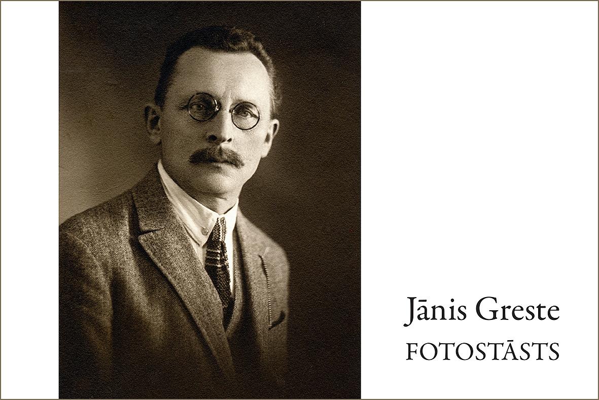 Fotostāsts par Jāni Gresti – skolotāju, literātu, muzejnieku