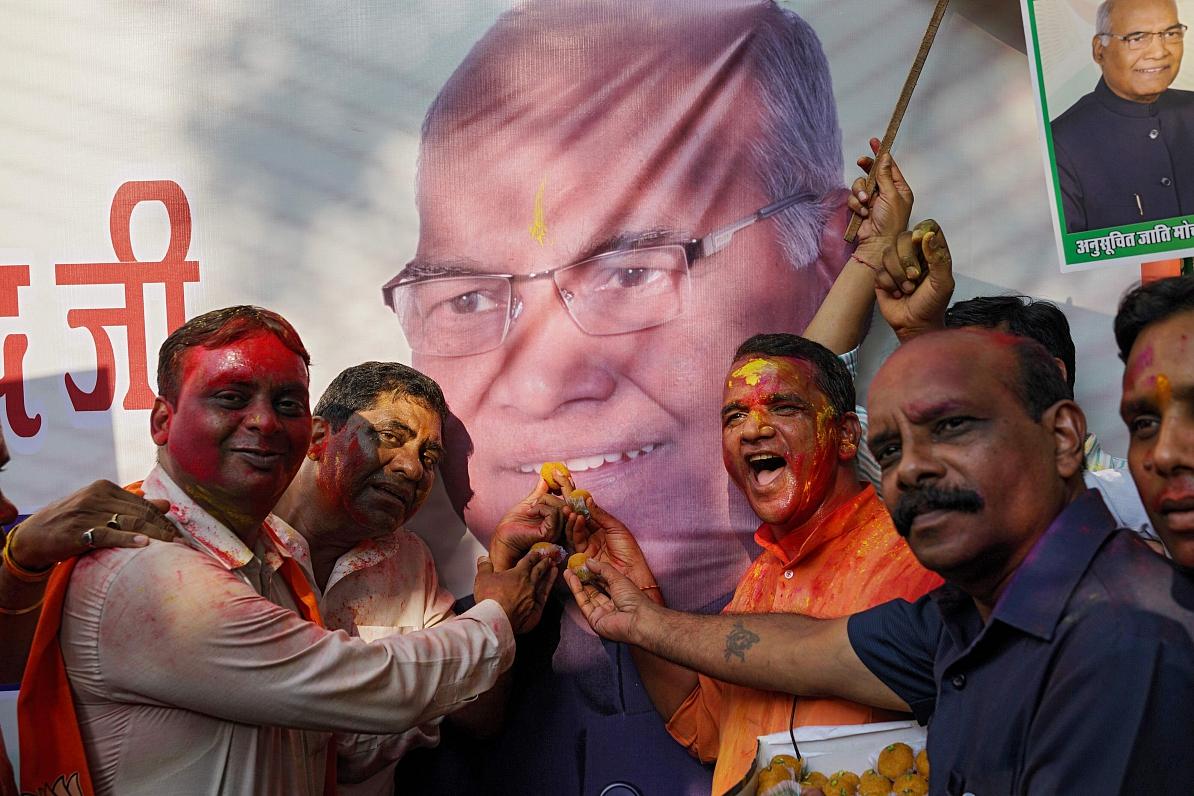 Pasaules lielākajai demokrātijai – Indijai – jauns prezidents
