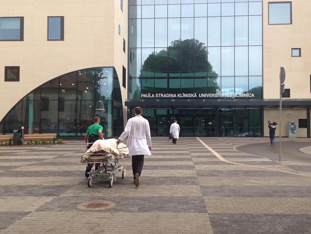 За парковку у больницы им. Страдиня — 14 евро в час