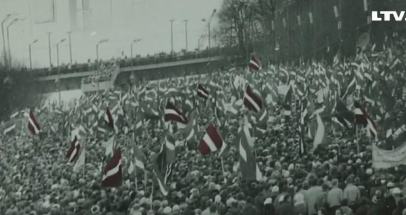 Atzīmē Latvijas neatkarības de facto atjaunošanas 26. gadadiena