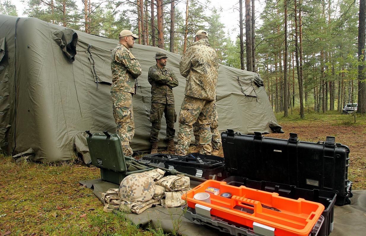Военная новинка made in Latvia позволит выследить врага или найти заблудившегося грибника
