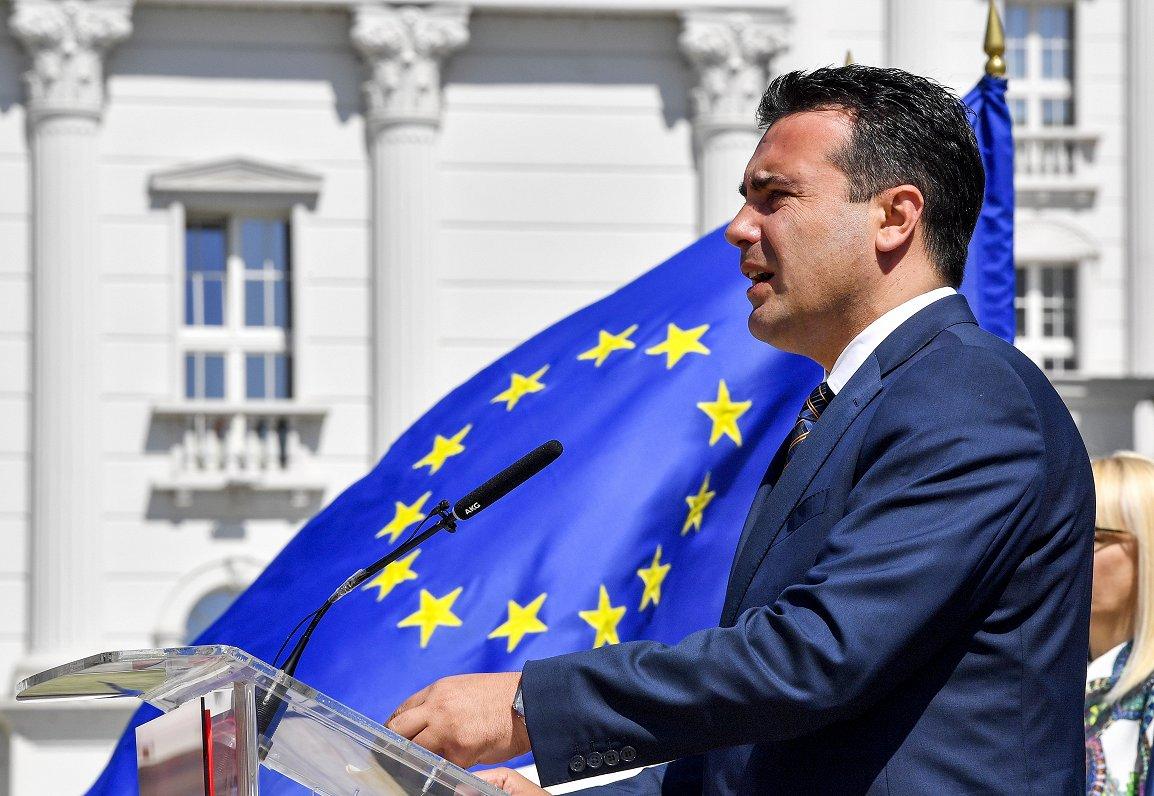 ES nespēja vienoties par sarunu sākšanu ar Ziemeļmaķedoniju noved pie pirmstermiņa vēlēšanām