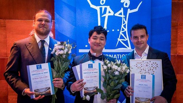 Belvederes konkursā uzvar tenors Sungo Kims no Dienvidkorejas