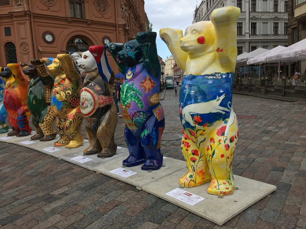 Фото достопримечательности в берлине медведи