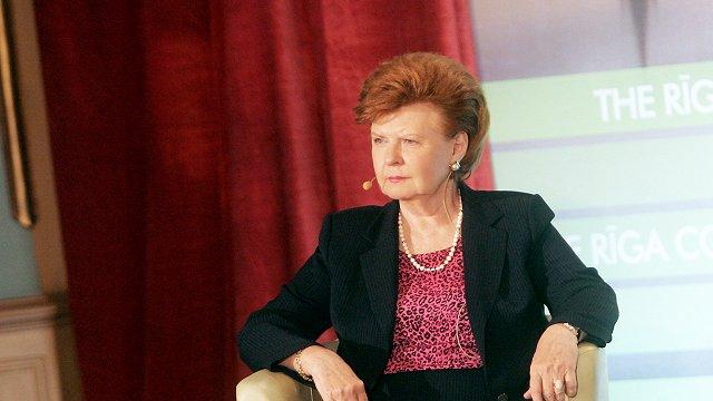 BBC tells life story of Vaira Vīķe-Freiberga