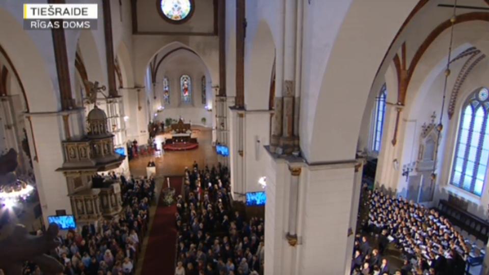 ТРАНСЛЯЦИЯ: Экуменическое богослужение в Домском соборе