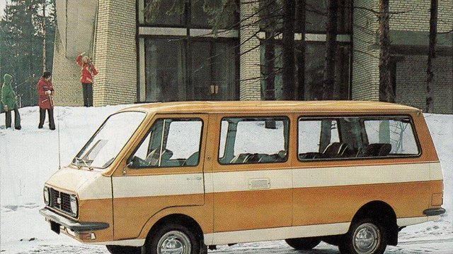 Godam nes Latvijas vārdu: RAF mikroautobusi «Latvija»