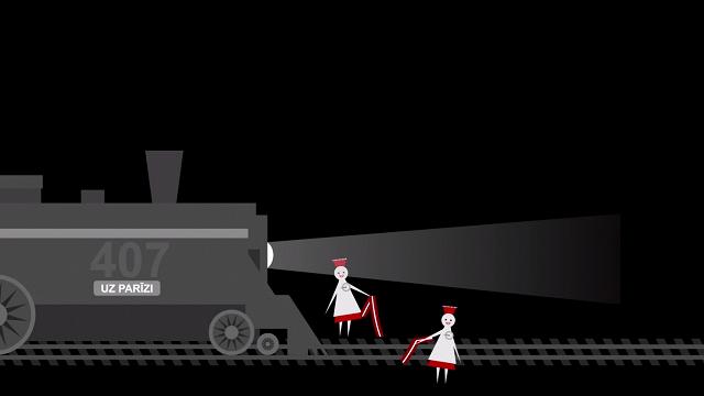 Vēsture 1 minūtē: Ar vilcienu uz Eiropu