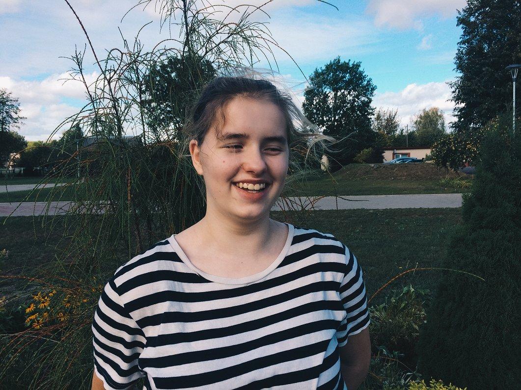 12 gadus vecā lielvārdiete Anna Viktorija aizraujas ar programmēšanu