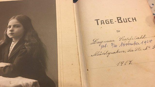Vācbaltu meitenes dienasgrāmatā bērna acīm fiksēts Latvijas valsts tapšanas laiks