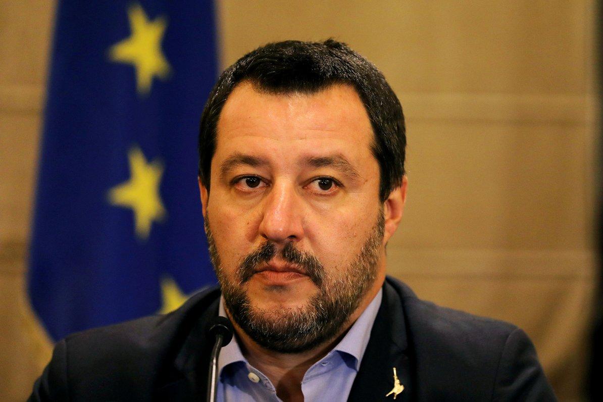 Salvini Polijā runās par anti ES līgas izveidi pirms Eiroparlamenta vēlēšanām