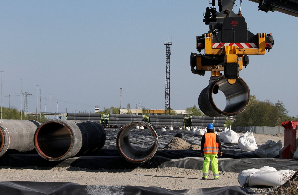 «Nord Stream 2» būvnieki prasa anulēt Eiropas Savienības gāzes tirgus nosacījumus