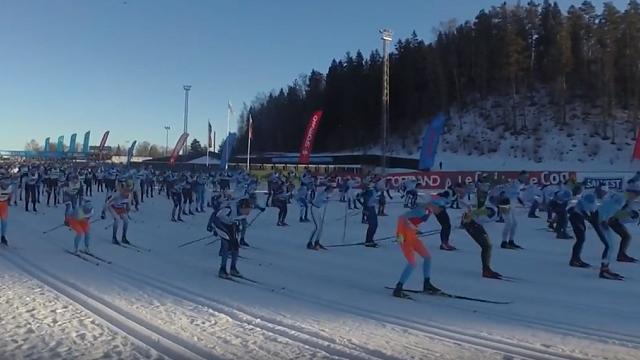 Latvijas slēpotāji kāpj uz pjedestāla «World Loppet» Igaunijas posmā