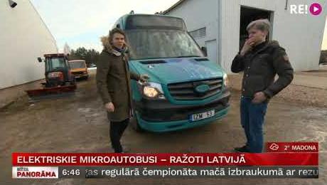 Vairāki uzņēmēji apvienojas, lai Latvijā ražotu elektriskos mikroautobusus