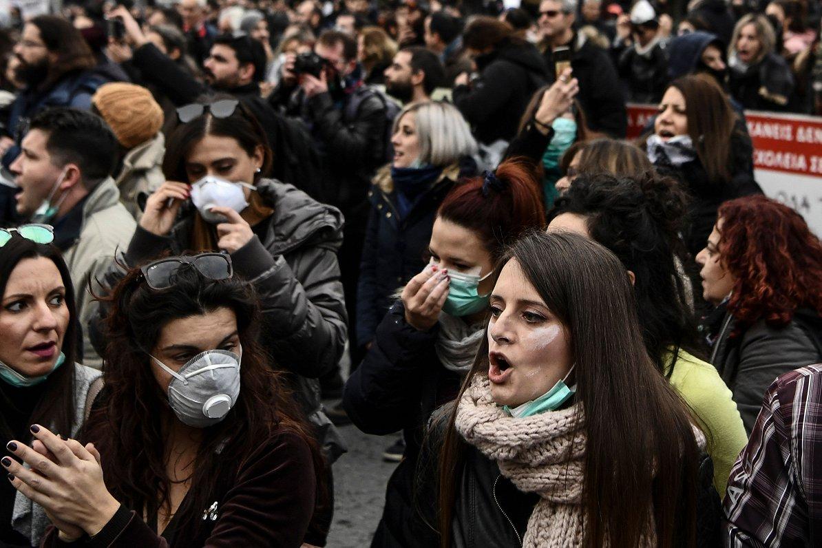 Grieķijas jaunieši: ekonomikas atveseļošanās prasīs daudzus gadus