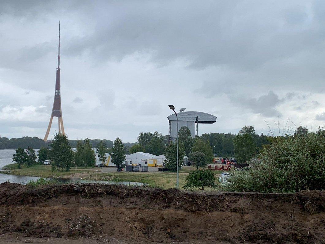 На Луцавсале 23 августа будет ограничено движение