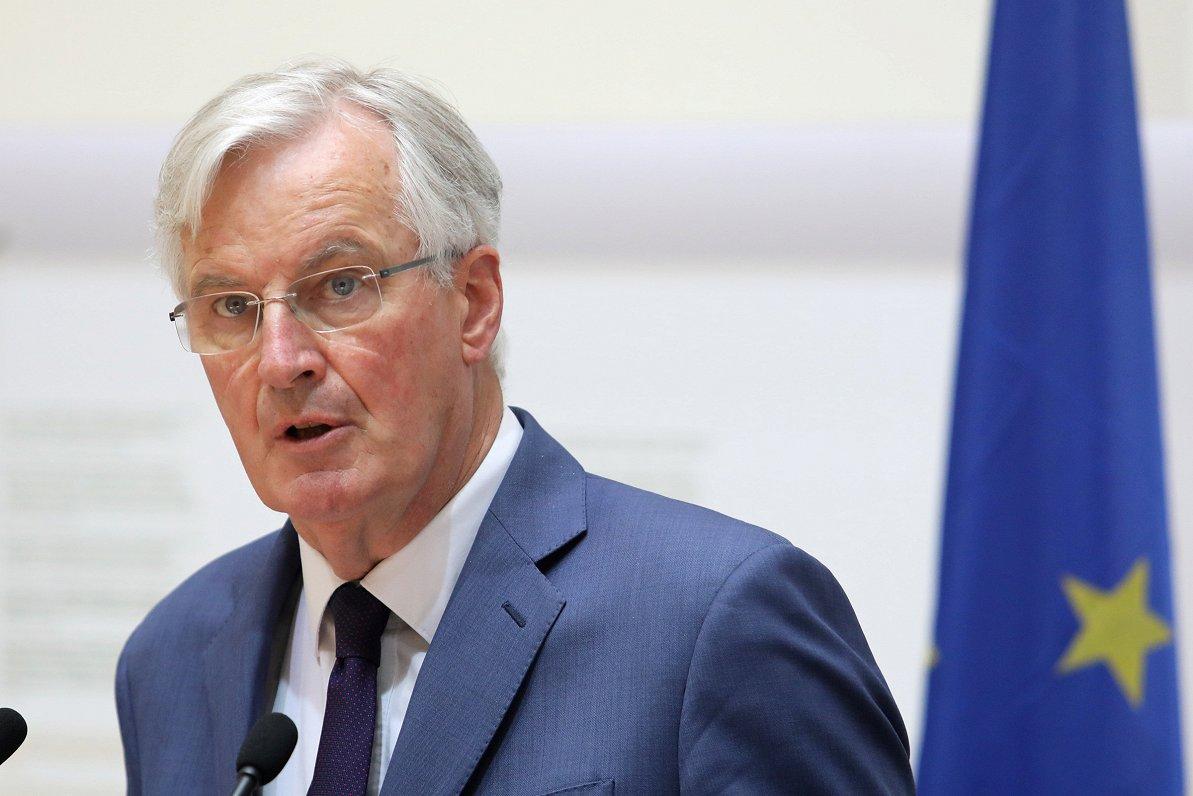 Barnjē: Pilsoņu tiesības Lielbritānijā būs prioritāte arī pie «Brexit» bez vienošanās