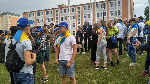 Ukrainas karavīru bērniem nometne Latvijā dod pozitīvas emocijas