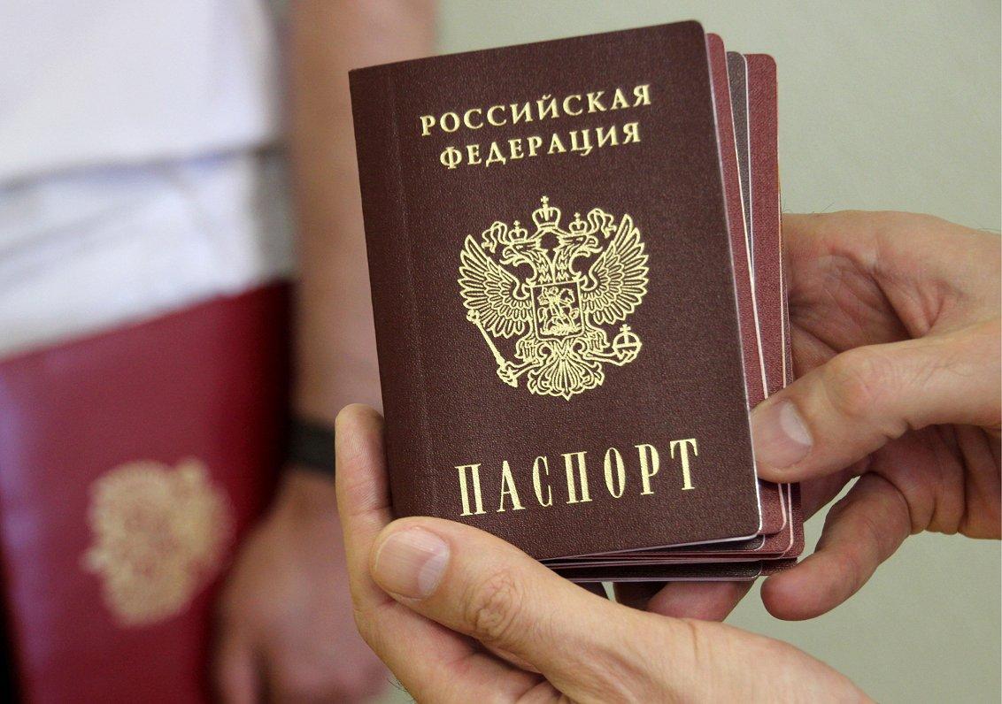 ĀM prognoze: ES kopējā nostāja par Donbasā izsniegtām Krievijas pasēm netaps ātri