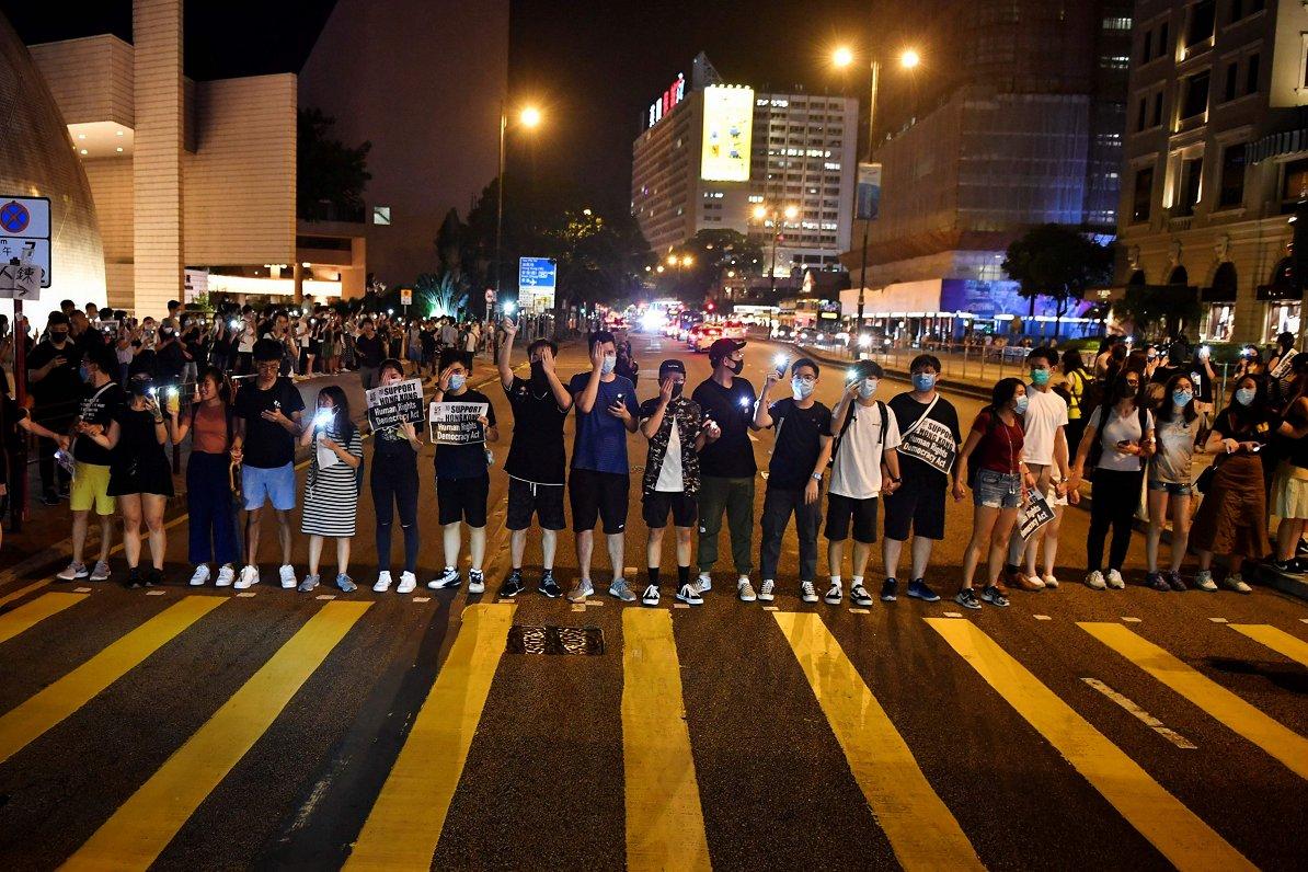 ФОТО и ВИДЕО: «Гонконгский путь»