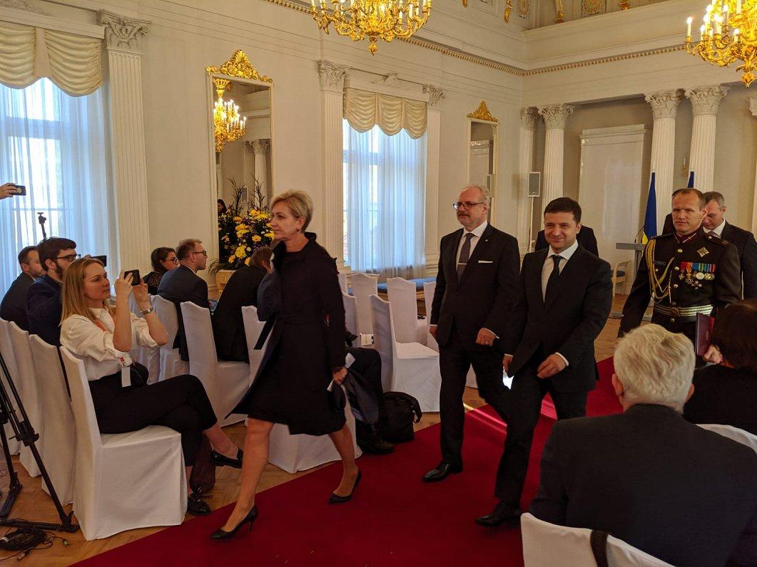 Президенту Украины еще раз напомнили о проблемах латвийских инвесторов