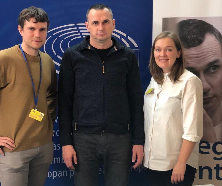 Oļegs Sencovs: Latvijas izrādītais atbalsts Ukrainai ir liela vērtība