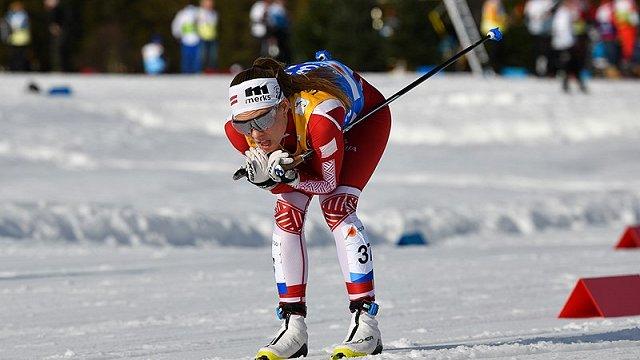 Slēpotāja Eiduka izcīna uzvaru Zviedrijā junioru konkurencē
