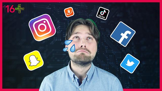 Vienu socmediju, lūdzu!  Vai sociālie mediji padara mūs nelaimīgus?
