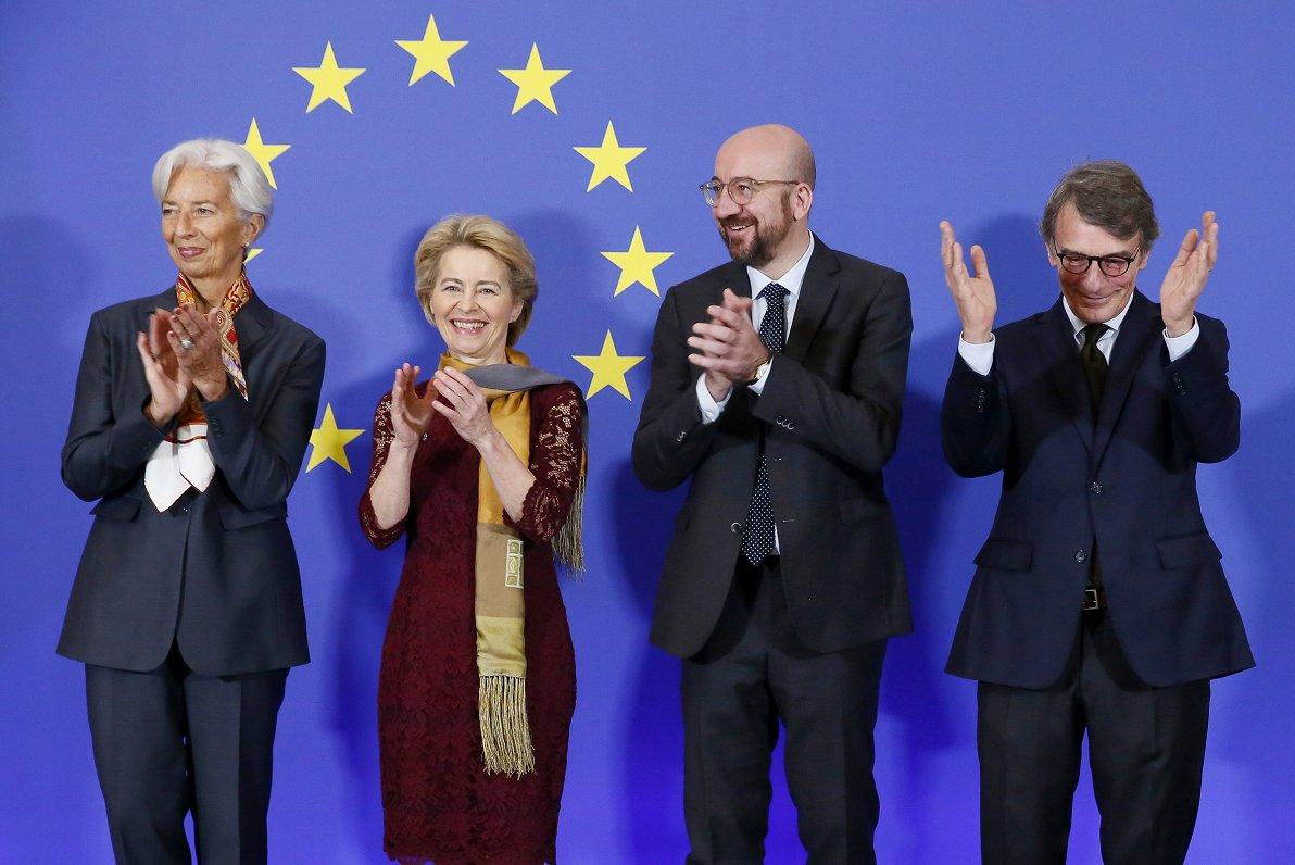 Leienas vadītajai EK šonedēļ - 100 dienas. Paveikto vērtē Eiropas politikas pētniece
