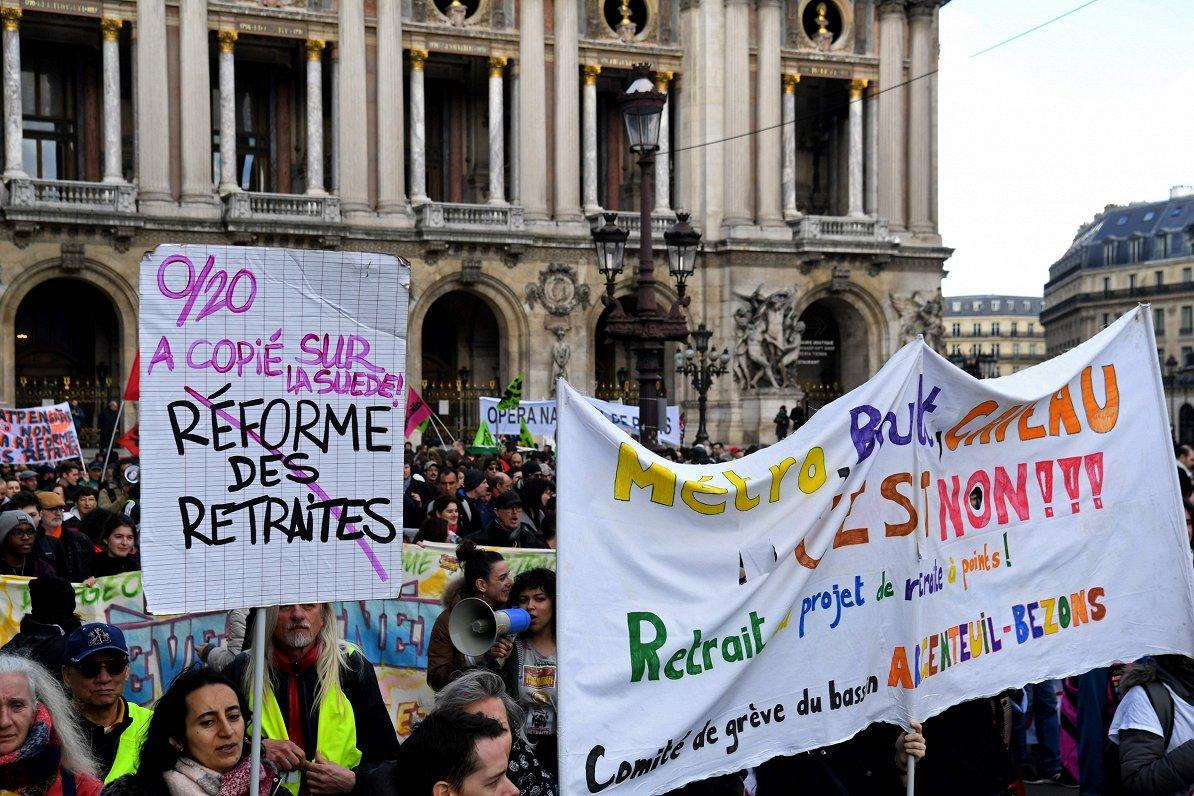 Skaitļi un fakti: Eiropas pensiju reformās liela dažādība