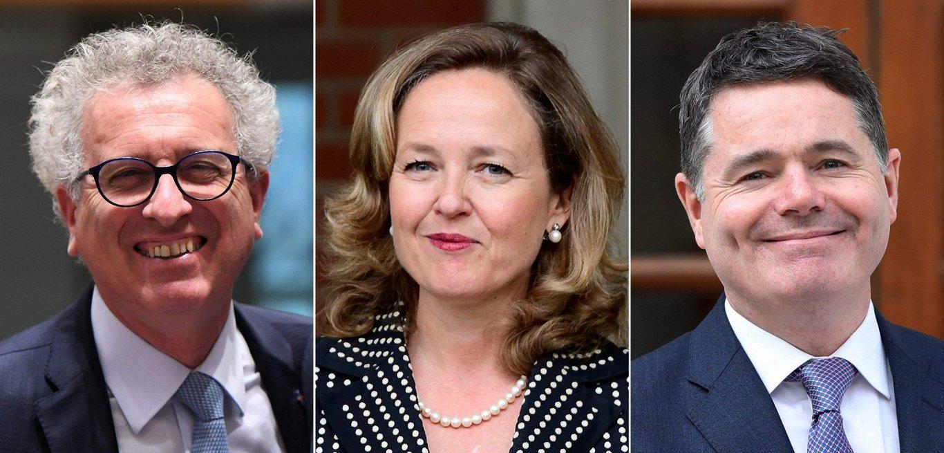 Uz Eirogrupas prezidenta amatu pretendē Spānijas, Luksemburgas un Īrijas ministri