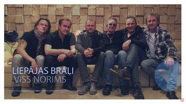 Grupai «Liepājas brāļi» iznākusi jauna dziesma «Viss norims»