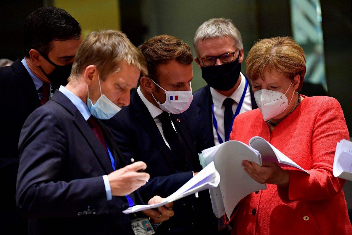 ES līderi vienojas par atjaunošanas fondu un daudzgadu budžetu