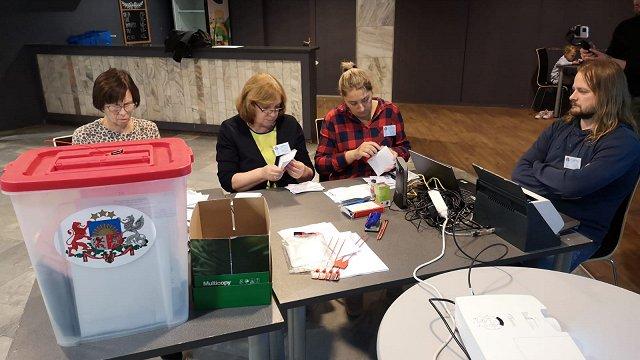 Balsu pārskaitīšana trijos iecirkņos nav ietekmējusi Rīgas domes sastāvu