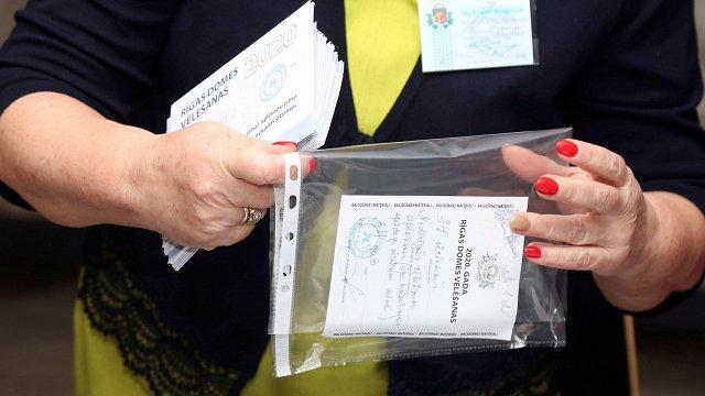 Rīgas vēlēšanu komisija apstiprina domes ārkārtas vēlēšanu rezultātus