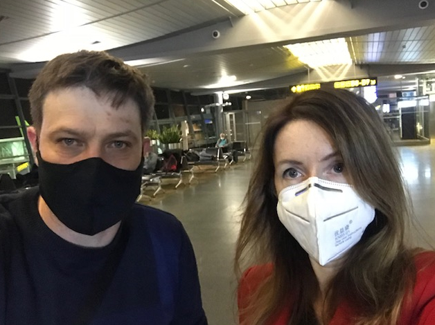 Ina Strazdiņa:Uz Vašingtonu – maskā!