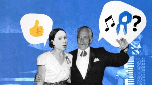 Kāpēc mums tā patīk dziedāt «Zilo lakatiņu»?