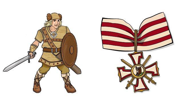 Izzini Latvijas vēstures notikumus un simbolus! Izdrukājama galda spēle visai ģimenei