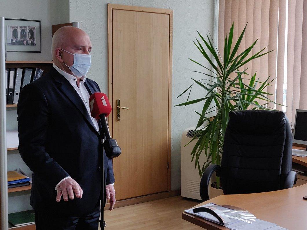 Глава жилищного департамента Рижской думы Алексеенко отстранен от должности