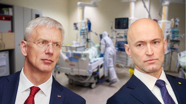 Kariņš: Saspīlējums starp nozari un veselības ministru ir kritisks; sola runāt ar Pavļutu un koalīciju